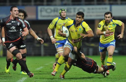 Rugby, Top 14 : Clermont s'impose face à Toulouse (24-6) et prend la tête le 04.01.2015