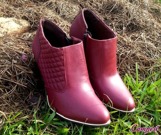 Como estão os preparativos para os dias frios? A Campesí lançou uma coleção de botas que vai espantar qualquer frente fria! Confira no site: http://ow.ly/L2M7g