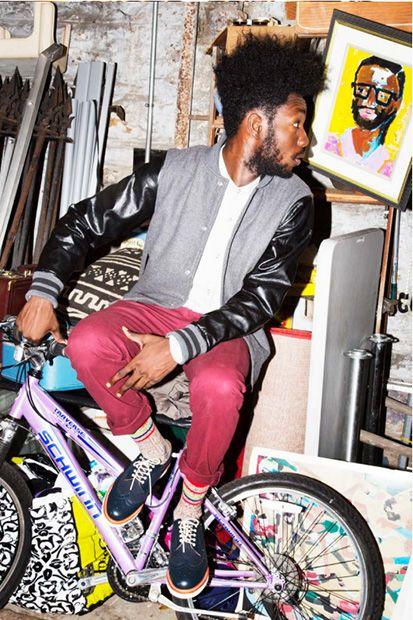 Men fashion #streetdance #sneakers