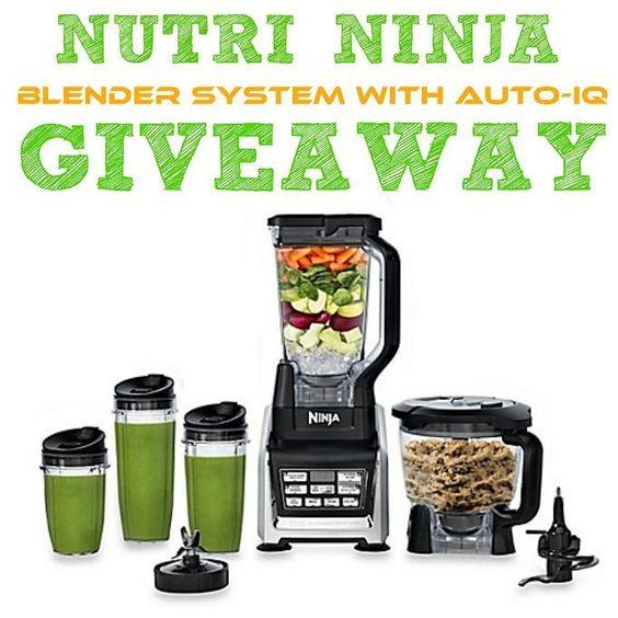Win a Nutri Ninja Blender System with Auto-iQ