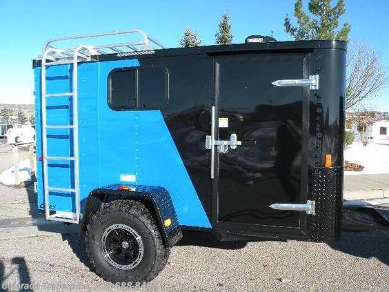 #12137 - 2016 Cargo Craft Elite V 5x10 Off Road Cargo Trailer for sale in Castle Rock CO