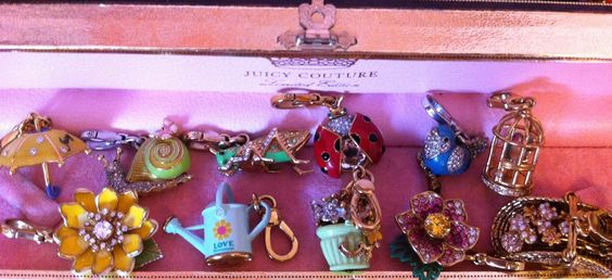 juicy couture charms - Google Search