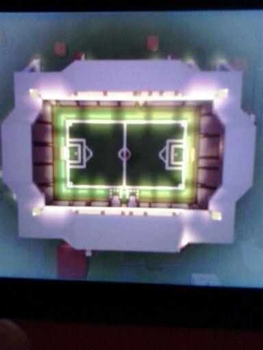 My football stadium on mimecraft
