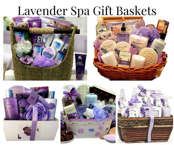 4b3fd899593b Lavender Spa Gift Baskets - Gift Baskets Worldwide