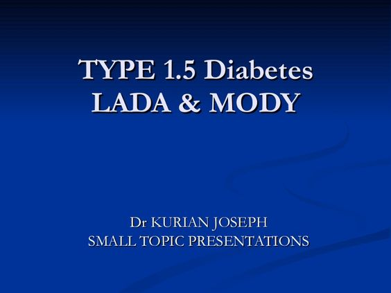 What are some typical diabetic forms?