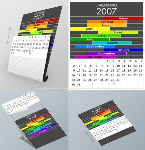 Creative Calendar Designs Creative calendar and Calendar design - calendar sample design