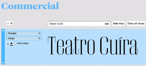 Teste de fonte (Giorgio) para o Teatro Cuíra #typography #identity #cuira