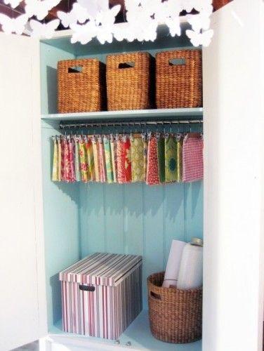 Fabric Swatches, Ish & Chi: The studio