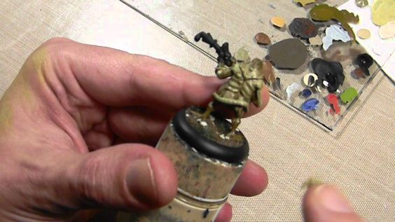 The Basics: How to Drybrush Miniatures