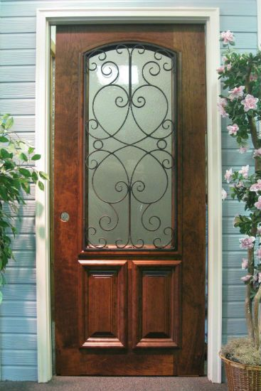 Wood entry doors search and australia on pinterest for Country front doors