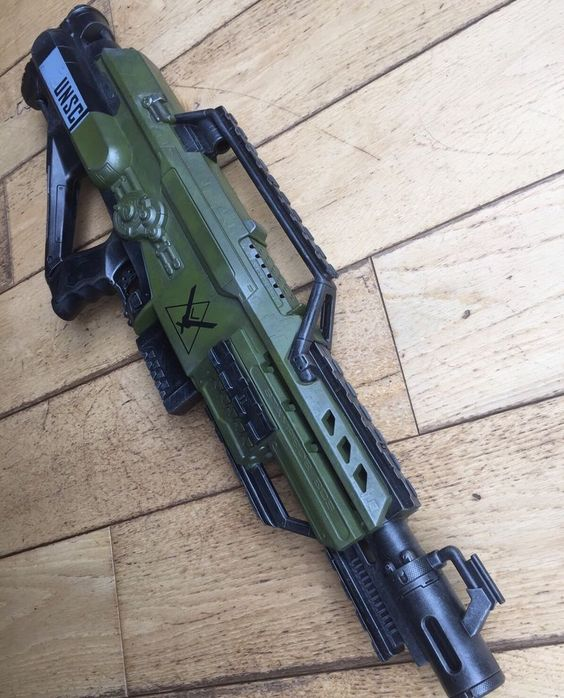 Custom Painted Halo Reach Nerf Stampede In UK in Toys & Games, Outdoor Toys & Activities, Other Outdoor Toys/ Activities | eBay