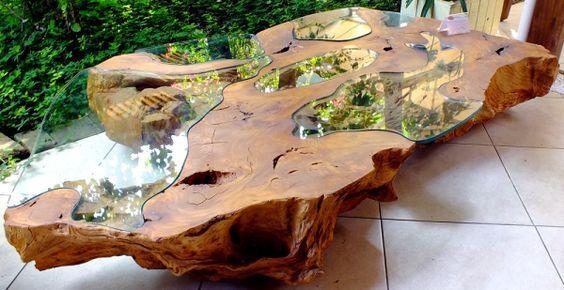 Resultado de imagem para tora madeira incrustacao