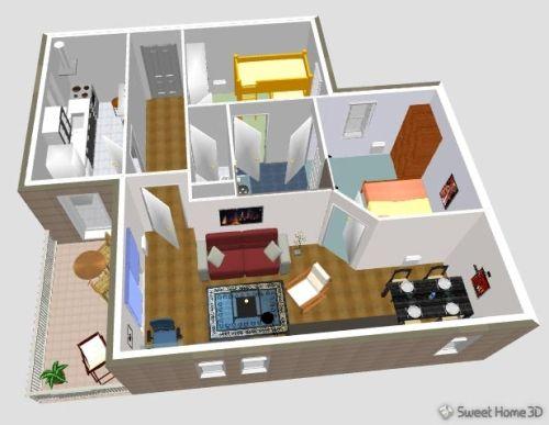 Diseno De Casa 3d Gratis Con Sweet Home 3d Hacer Planos De Casas
