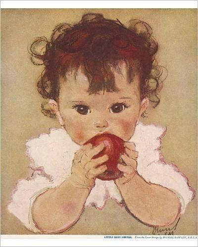 Muriel Dawson (1897-1974) - 'Little Rosy Cheeks':