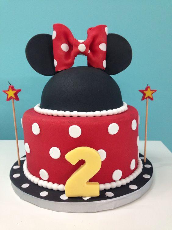 Cake Minnie Moue #melao