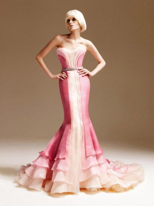 Pink Versace Dress | Weddings Dresses