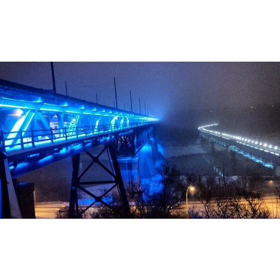 The High Level Bridge, only a couple blocks from UAlberta campus.