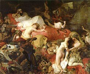 A morte de Sardanapalo de Delacroix | Jardel Dias Cavalcanti | Digestivo Cultural
