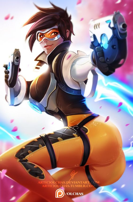 Support me on Patreon Tumblr Artstation Instagram Facebook 'Cheers, love! The cavalry's here!' Overwatch coming soon and I made this fan art with Tracer! Was a great chal...