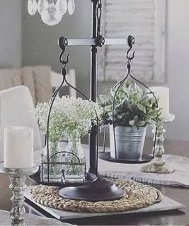 30 Dining Table Centerpiece Ideas A Guide To Decorate Dining Table Modern Farmhouse Living Room Decor Dining Table Centerpiece Farmhouse Decor Living Room