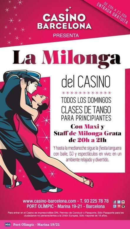 Barcelona: La Milonga del Casino
