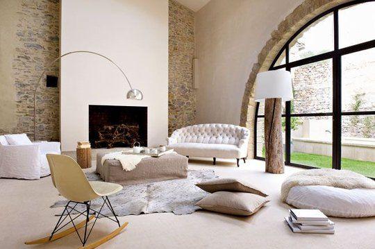 cotemaison: Interior Design, Livingroom, Living Room, Dream Home, Room Design, Design Idea