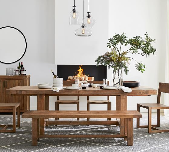Reed Extending Dining Table With Images Dining Room Small Extendable Dining Table Interior Design Dining Room