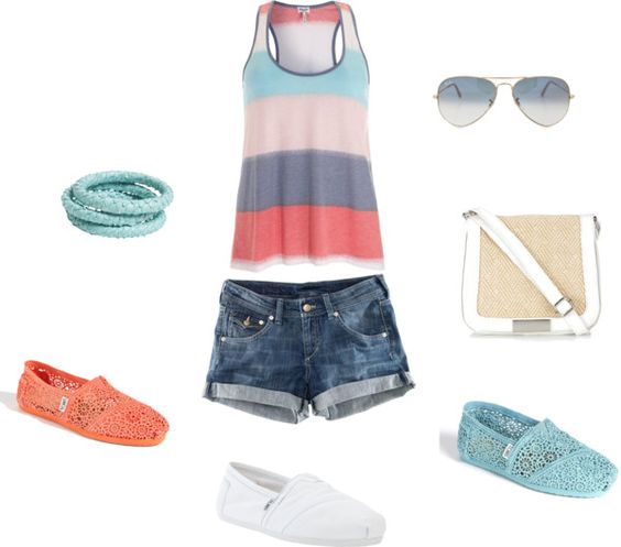 Summer chill, created by rprov on Polyvore