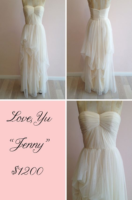 """Theia """"Jenny"""" tulle dress, only $1200! Available at Lovely LA!"""