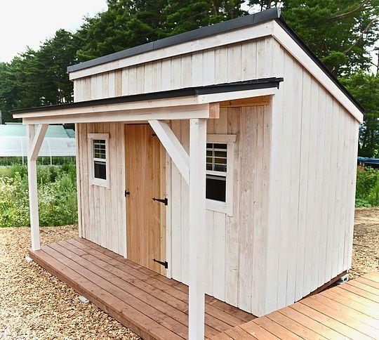 Diyで建てられるおしゃれな木製小屋 コンテナハウス Diy 小屋