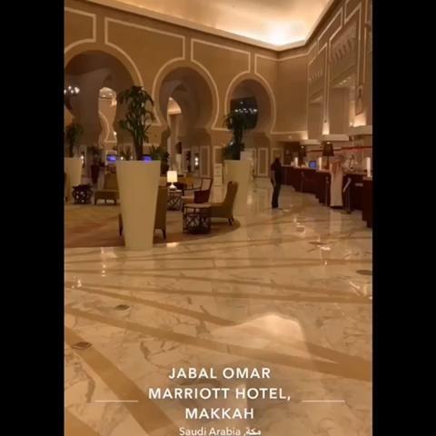 تغطية اللؤلؤةالفندقية لفندق ماريوت مكة جبل عمر Video In 2020 Marriott Hotels Hotel Marriott
