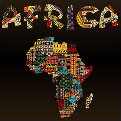 PAGNES, TISSUS, TISSUS-PAGNES… C'est quoi la différence ?   Carte afrique,  Couettes africaines, Afrique art
