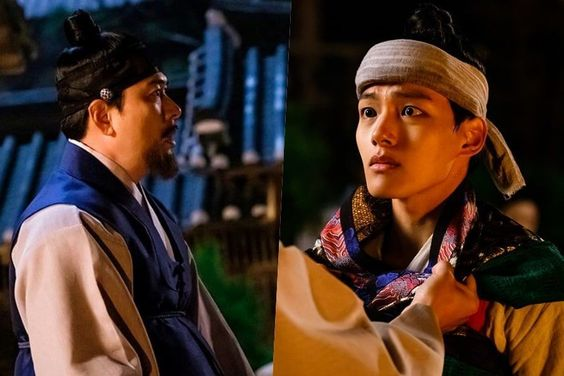 """Kim Sang Kyung And Yeo Jin Goo Have A Shocking First Encounter On """"The Crowned Clown"""""""