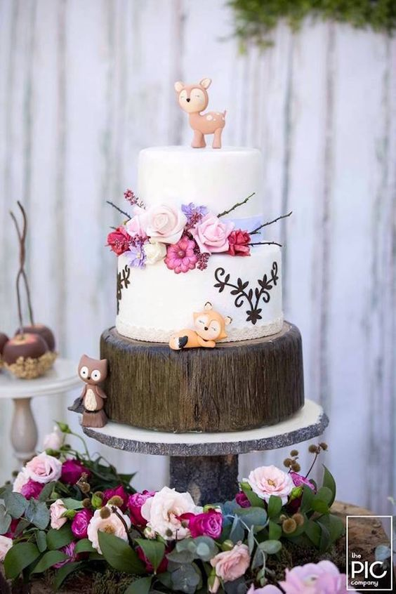Woodland Animal Birthday Party                                                                                                                                                                                 More: