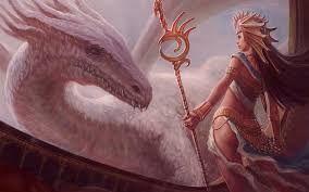 Resultado de imagem para dragão e a menina