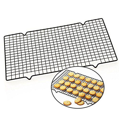 Fut Cake Cooling Rack Baking Rack Nonstick Carbon Steel Multipurpose Tier Cooling Wire Rack Best For Cookies Pies Ca Kitchen Oven Kitchen Baking Cake Rack