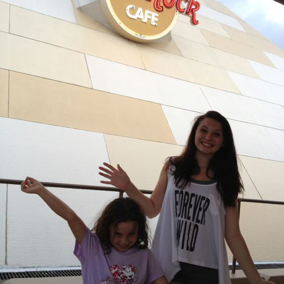 Ate at the Hard Rock Cafe in Myrtle Beach