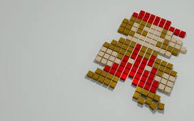 Resultado de imagem para wallpapers pixelados