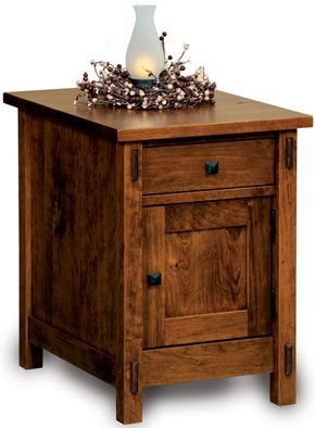 Amish Outlet Store Enclosed Centennial End Table In Oak Furniture Pinterest Outlets