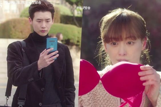 """Watch: Lee Jong Suk And Lee Na Young Live Completely Opposite Lives In """"Romance Is A Bonus Book"""" Preview"""