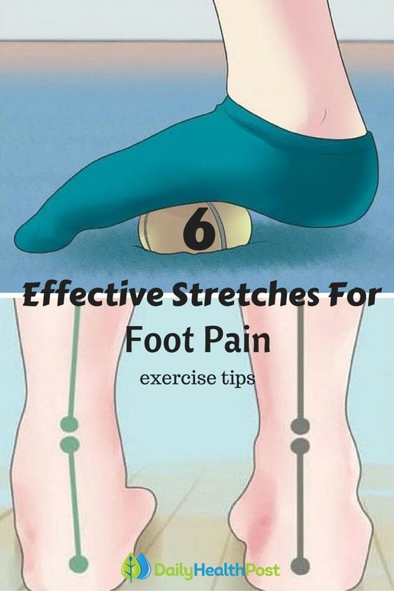 Get Rid of Foot Pain in Minutes With These 6 Effective Stretches after workout #exercise#tips: