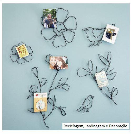decorando con alambre