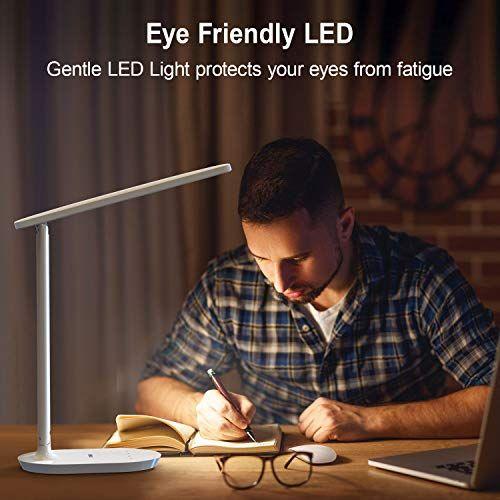 Vipex Led Desk Lamp To Light Your Life Technical Specifications Power For Led Panel 5 W Brightness Max In 2020 White Desk Lamps Led Desk Lamp Modern White Desk