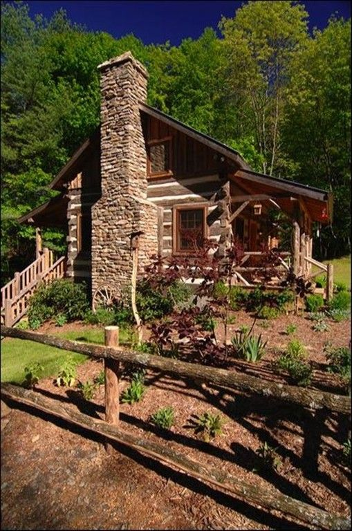Cabin mountain cabins and blue ridge mountains on pinterest for Vacation log homes
