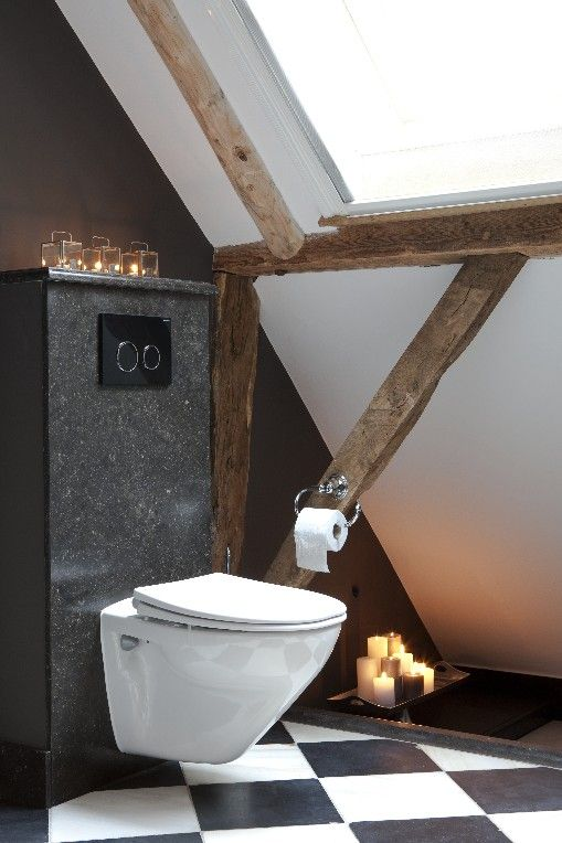 Stijlvol en stoer country living zijn er echt mensen die kaarsjes aan hebben op de toilet - Ontwerp nordique ...