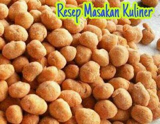 Resep Kacang Telur Renyah Dan Gurih Kacang Resep Makanan Anjing