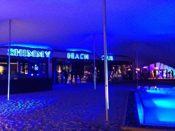 Shimmy beach club #Mainstay launch