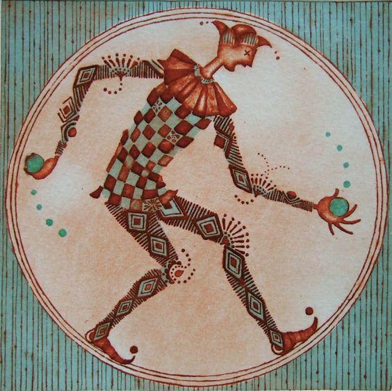 Kayoko KONOMI (©2013 artmajeur.com/kayokokonomi) Petite série «Cirque»... n°2: Fontaine