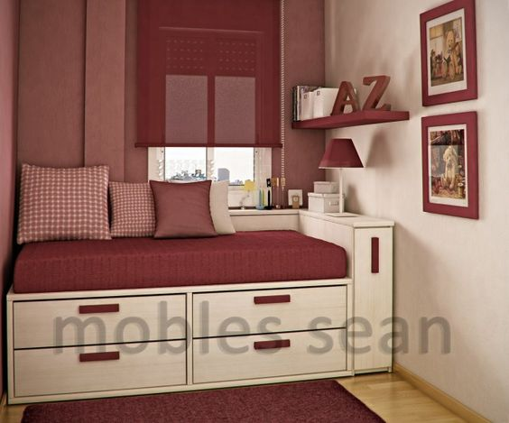 small space bedroom | These Are Very Small Spaces - Small ...
