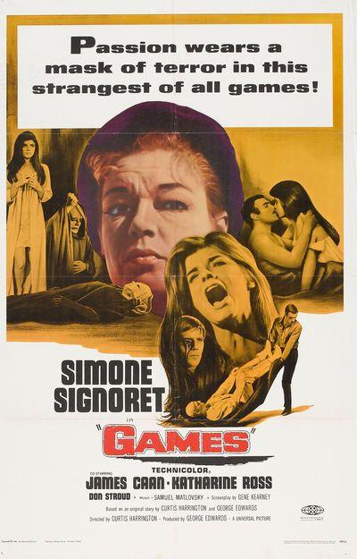 Games (1967) starring Katherin Ross.